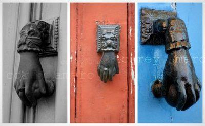 French door handles 1
