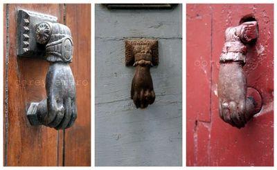 French door handles 2