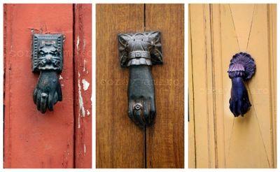 French door handles 3