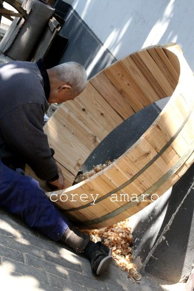 Wooden barrel china