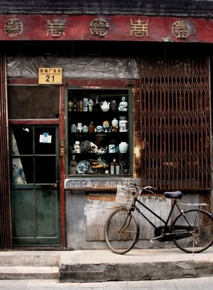 Antique shop china
