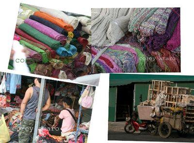 Hmong tribal market chiang mai