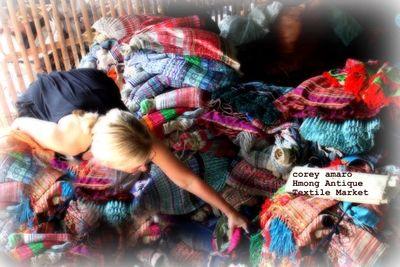 Corey amaro antique textiles Thailand