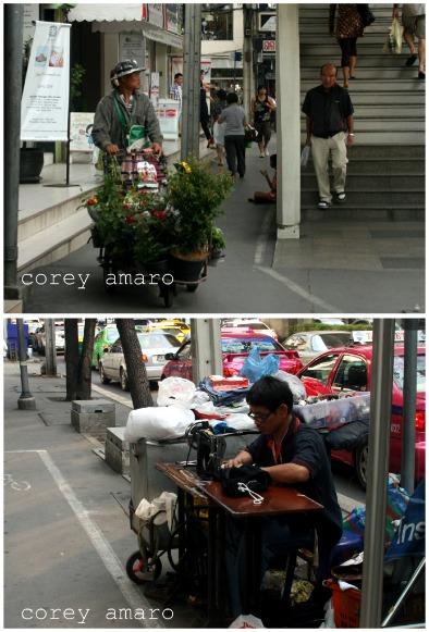 Streets bangkok