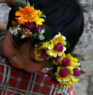 Flower wreath FH w Ch