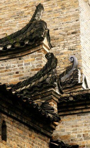 Rooftops yangshuo