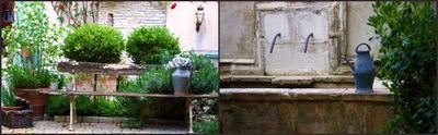Courtyard jardin