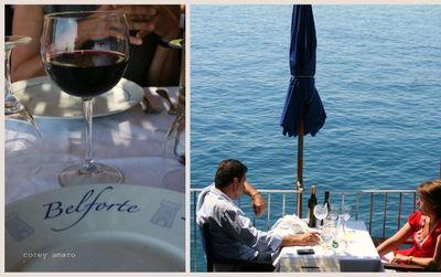Terrace restaurant belforte
