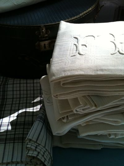 French antique linens