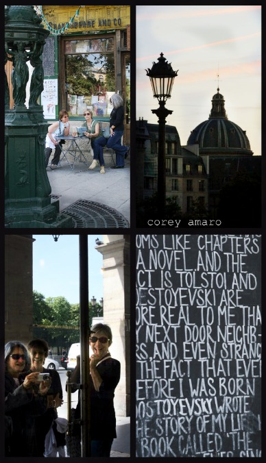 Happy cousins in Paris