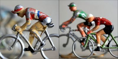 Tour de France bicycle riders