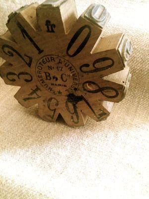 Numeral Stamp Roller