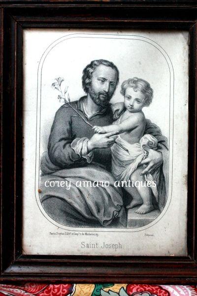 St Joseph and Jesus