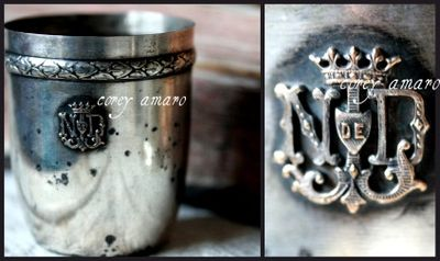 Silver Notre dame cup