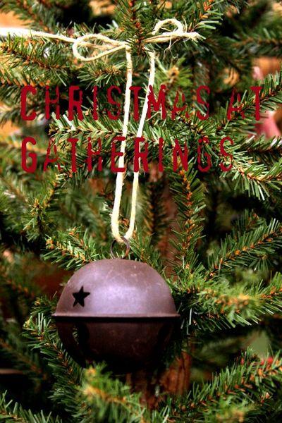 Christmas at gatherings