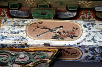 Painted rafters in china