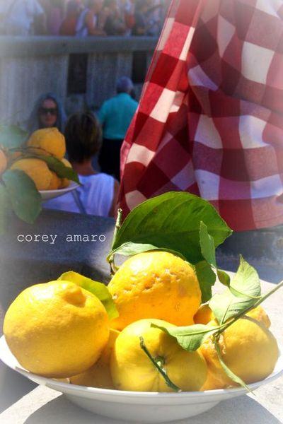 Lemons for pasta