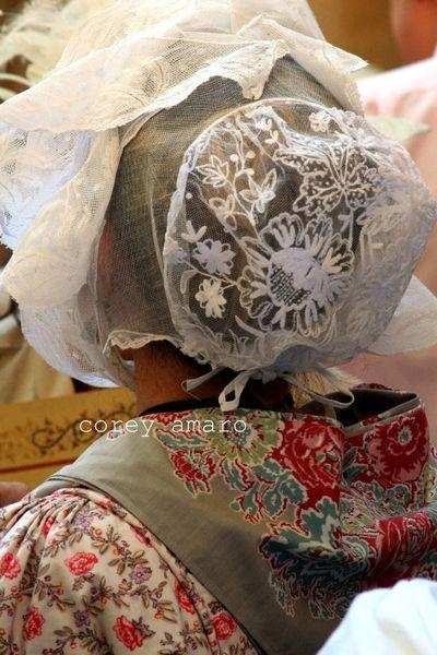 Lace provencal caps