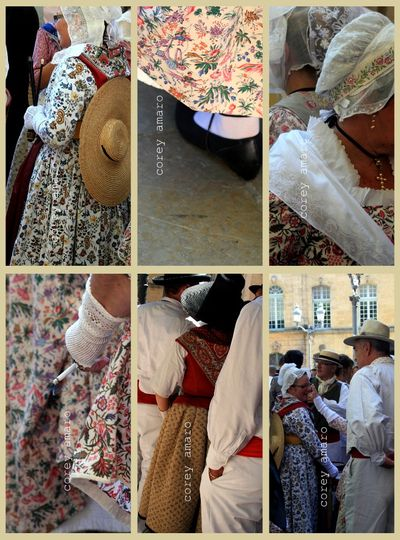 Details of antique french clothing