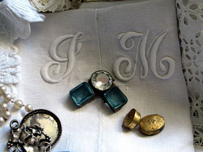 Gem-on-monogram