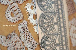 Lace booklet details