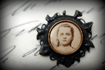 Locket with girl