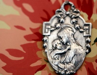 Mother and child medal