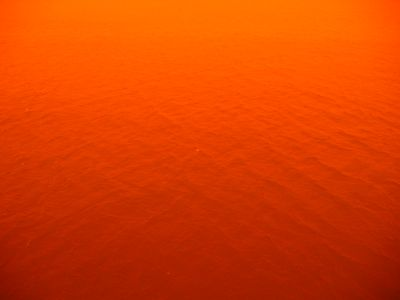 Red dust storm Libya