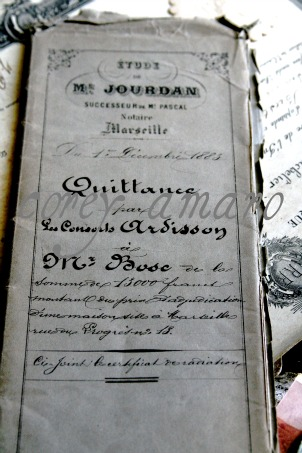 Legal documents 1900s