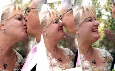 Happy kiss