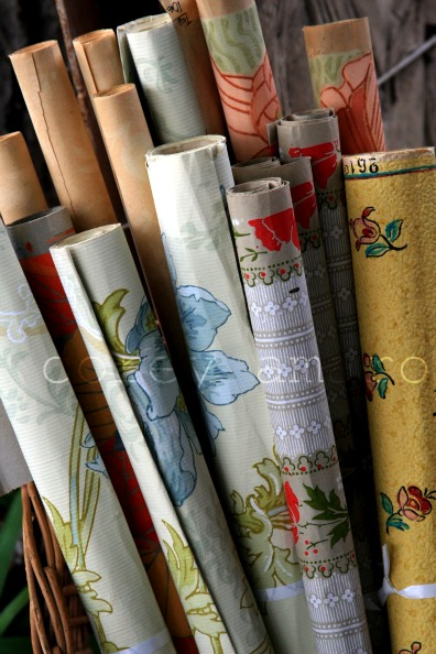 Wall paper samples