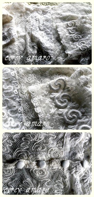 Lace bodice