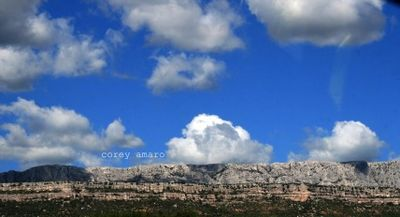Clouds over St Victoire