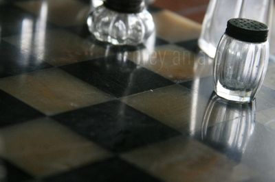 Clever idea for a checkered board