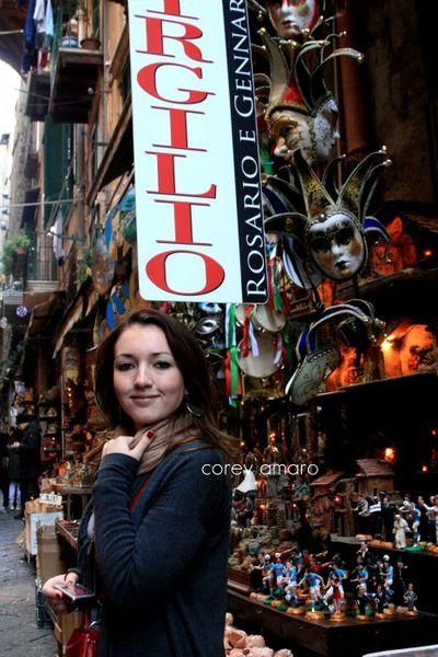 Chelsea in Naples, Italy