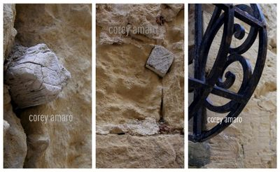 Details of the walls in Malta