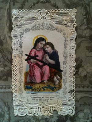 1850 Prayer Card