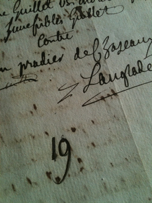 French Letter Dating 1811...Giveaway