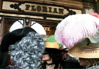 Venice hats at the carnival