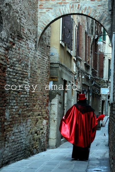 Venice carnival on the streets