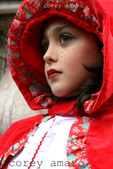 Red riding hood venice carnival