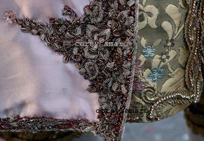 Venetian textile detail