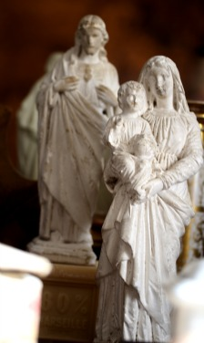 French antique statues