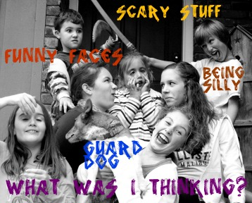 Slumber party scary