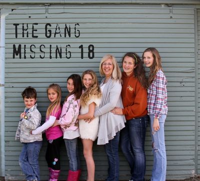 The gang missing 18