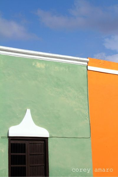 Merida colors sky and facade