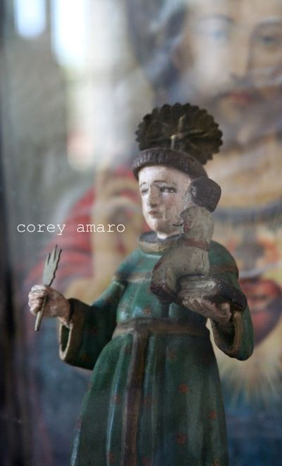 Santon mexican antique