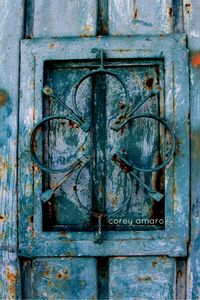 Blue door mexico