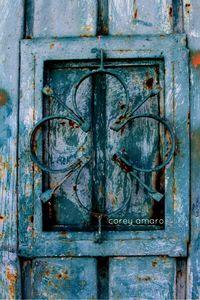 Blue door mexico