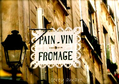 French bakery sign